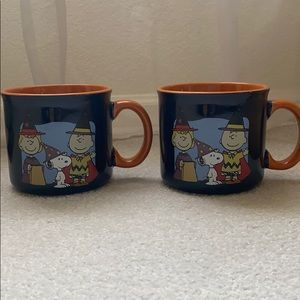 Peanuts Gang Snoopy fall mug